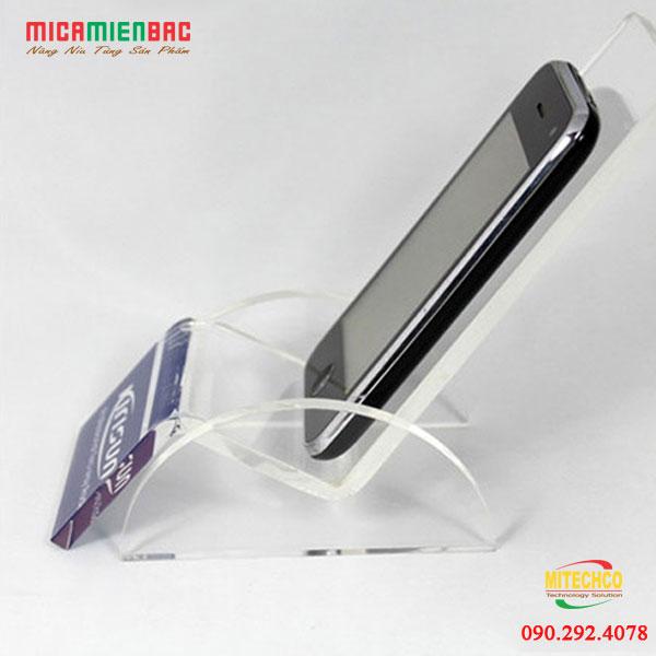 kệ mica điện thoại