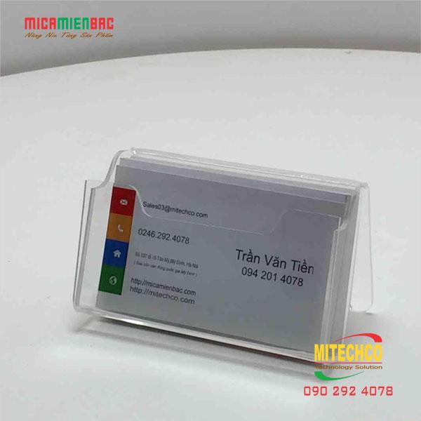 Kệ Mica Đựng Name Card